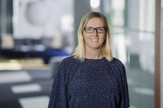Lisa Häggdahl, affärsutvecklare och ansvarig för arbetet med detaljplanen på Platzer.
