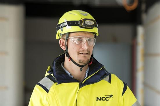 Alexander Sandstedt har blivit utsedd till Årets Byggchef 2018.