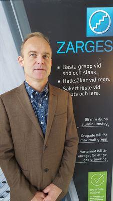 Patric Seger Zarges Sverige