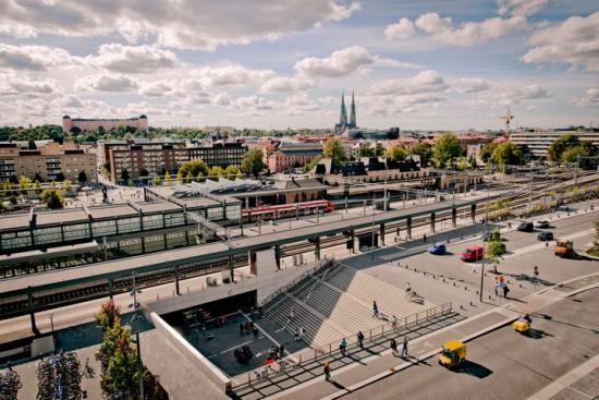Uppsala central.