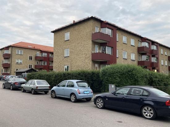 Fastigheterna Turbanen 2 och Turbanen 3 i centrala Hässleholm.