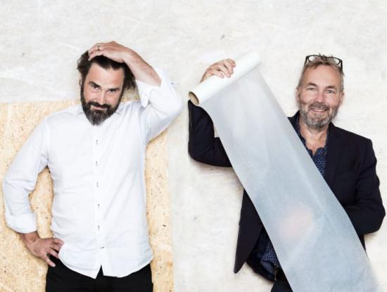 <span>Göteborgsansvariga Fredrik Rosell och Christian Merkel.</span>