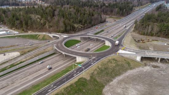 Trafikplats Vega i Haninge