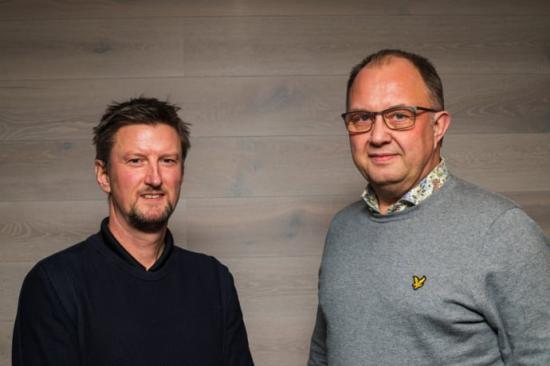 Industriprojektledningen växer inom Structor. Hans Lundberg till vänster och Erik Hallberg till höger.