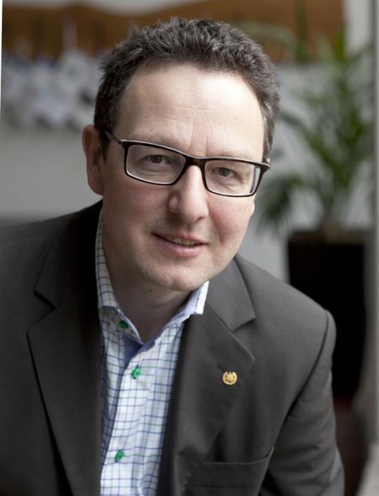 Holger Wallbaum, professor i hållbart samhällsbyggande.