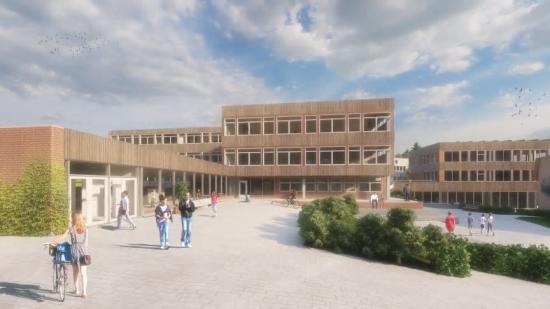 Nytt möter gammalt när Björkhagaskolan rustas upp (bilden är en illustration).