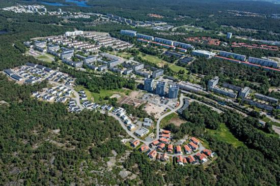 Nya Gårdsten med fler bostäder i blandade upplåtelseformer.