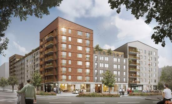 JM bygger 200 ägarlägenheter i Barkarbystaden och planerar lokaler för co-working i gatuplan. Det ger boende i Barkarbystaden möjlighet att jobba i en kreativ miljö på gångavstånd från sin bostad och nära bra kommunikationer.