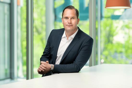Andreas Finnstedt, landschef för Siemens Smart Infrastructure i Sverige.