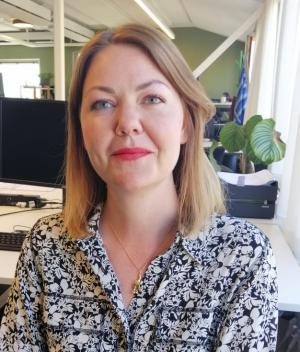 Jenny Lindqvist, chef för bostadsuthyrningen på Stockholmshem.