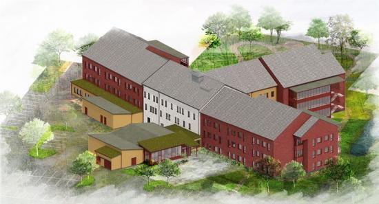 Detnya vård- och omsorgsboendet kommer rymma 80 lägenheter.