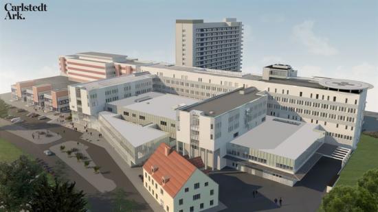 Mälarsjukhuset E62 (bilden är en illustration).