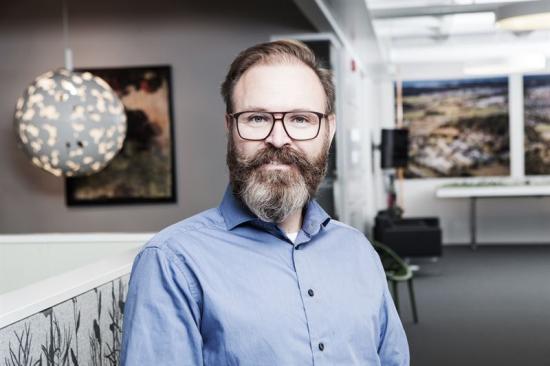 Mathias Vårström, projektchef Aspelin Ramm Fastigheter.
