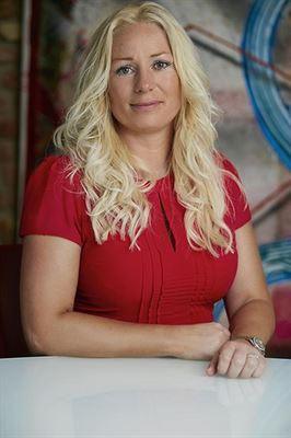 Karin Mizgalski, hållbarhetschef på Wallenstam.