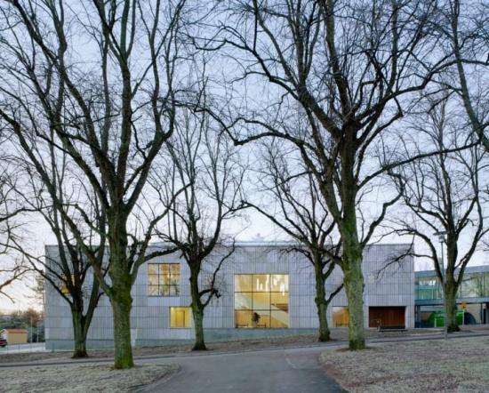 Krematoriet på Kvibergs kyrkogård är årets bästa byggnad.
