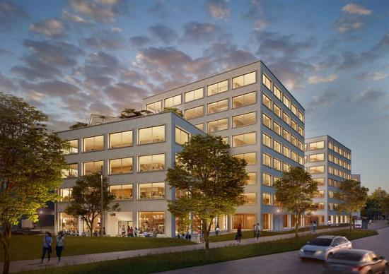 Instalcobolagen Ohmegi och VVS-metoder kommer delta i byggnationen av kontorsfastigheten Grow i Solna strand utanför Stockholm.