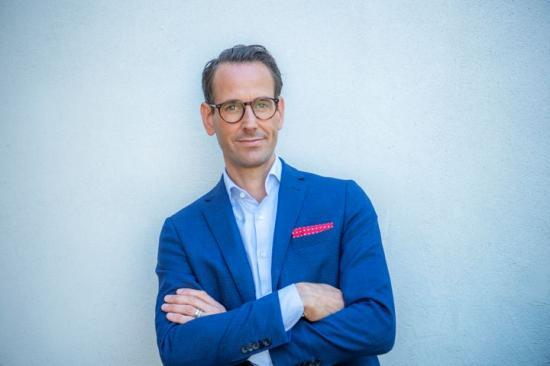 Jonas Högset, fastighet- och hållbarhetschef på Sveriges Allmännytta.