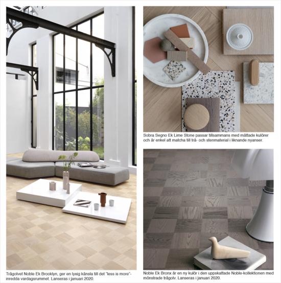 Mönstrade eleganta golv lyfter inredningsstilen